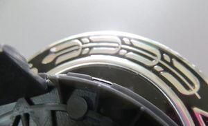 Style de voiture 40pcs 75mm 3pin bleu foncé noir complet centre de la roue de roue Capuchons de couverture emblème pour emblème pour CLA CLS A1714000025 Accessoires de voiture