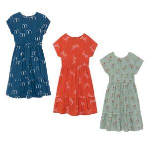 Bobozone 2019 New Bobo Mid-polpaccio per bambini Summer Dress J190612