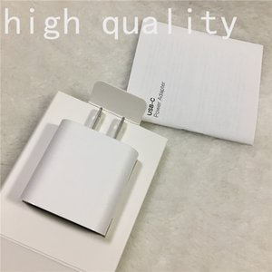 10pcs UE US 18W Fast Charge PD Carregador USB-C Cable para Apple iPhone 11 Pro Max Series USB Tipo C Power Adapter