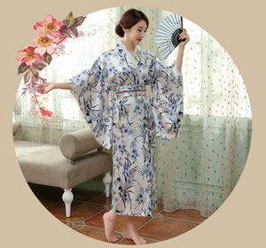 Traditional Japanese Kimono Women Long Sleeve gown Japanese Ancient clothes Anime Party Cosplay Asia & Pacific Islands Clothing