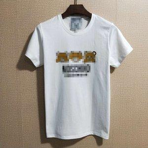 Sıcak Satış Lüks Erkek Marka Bayan Baskı T Shirt Yaz Designered Erkek Tişörtü Kısa Kollu Casual Top Tees HipHop Erkek Streetwear 2051102H