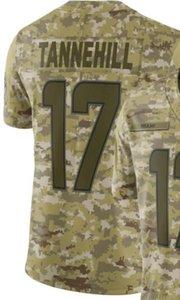 2019 camisetas Miami 17 para hombre Camo Salute to Service Jubilados Camisetas de fútbol americano de Jersey limitado