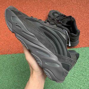 2019 700 V2 Static Mauve moda diseñador de lujo mujeres para hombre zapatos al aire libre para hombres Recién llegado Zapatillas de deporte Geode Sneaker plataforma entrenadores