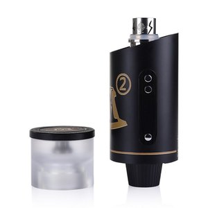 1pcs Kangerm 200W M2 E-Hookah Shisha hookah Ehead vaporizer Adjustable Wattage head Fit TFV12 Coil RBA Base Huge vapor bongs dab Vape pen