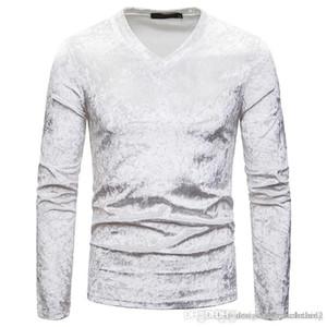 Männer Pullover Frühling-lange Hülse Relaxed Männer Pullover beiläufiger Normallack-Tops Für Männer dünnen V-Ausschnitt