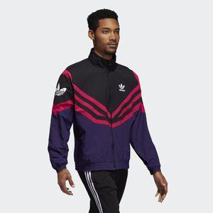 Designer Langarm Herren Jacken Active Style Marke Sportwear Windbreaker mit Zipper Striped Weiß Schwarz Farbe Luxus Jacken Großhandel