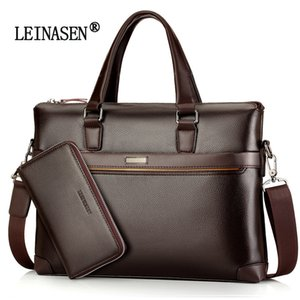 Ombro masculino Package Handbag Briefcase Diagonal único pacote Computer Man Business Affairs Package