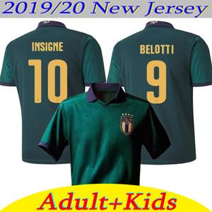 2020 كأس أوروبا إيطاليا لكرة القدم بالقميص منتخب إيطاليا INSIGNE BELOTTI VERRATTI KEAN BERNARDESCHI الرجال والاطفال كرة القدم قميص الزي الرسمي