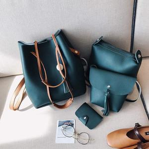 borse Designer-Shoulder Bag Corssbody borsa borsa portafogli Nuovo Quattro pezzi in pelle DesignerCasual PU Marca universale multiuso