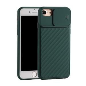 Pour iPhone 6 6S / 6 Plus / 6S Plus / 7 7 Plus / 8 8 Plus Housse silicone souple anti-choc TPU Protect caméra mobile Téléphone Phone Housse