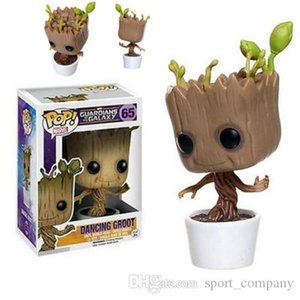 Funko Pop Dancing Tree Groot Action Figure Model Toy Marvel Bobblehead Guardians of the Galaxy PVC Toy Figures for Children Christmas Gift