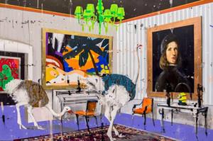 Angelo Accardi Opere qualcosa è CAMBIATO Home Decor dipinto a mano HD stampa pitture a olio su tela di canapa Wall Art Immagini 200515