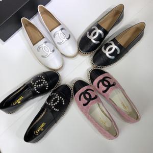 2020 nouveaux vêtements pour femmes, sandales design décontracté, effet nacré, effet design d'or avec la taille de la boîte 35-41