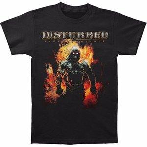 100% coton neuf t shirts col rond manches courtes machine d'impression pour hommes perturbés indestructible 08 occasionnels t-shirts