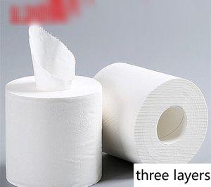 120г рулона туалетной бумаги 3 слоя дома ванной туалет рулонной бумаги первичной древесной массы туалетной бумаги ткани рулон Б1