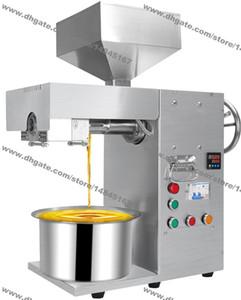 Free Shipping Heavy Duty 110V 220V noci elettrico olio di semi automatica della pressa di olio di oliva Press Extractor pressa