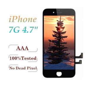 لفون 7 7G الصف A +++ Tianma شاشة LCD تعمل باللمس محول الأرقام الشاشة كاملة مع استبدال الإطار التجميع الكامل