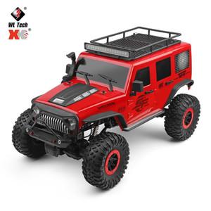 WLtoys 104311 1/10 2.4G 4WD Luce Climbing Rc Auto Rock Crawler veicolo W / LED RTR Modello alta velocità camion fuoristrada Camion Giocattoli MX200414