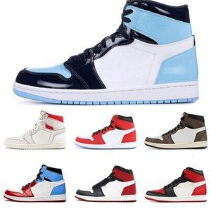 Plus récent venant Cdg X 1 Collab Boucle bretelles Pull Bague Hommes Femmes Chaussures de basket-1S Jumpman Des Garcons de sport Chaussures de sport # 960