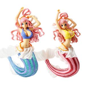 16cm 원피스 크리에이터 x 크리에이터 시라 호시 공주 섹시 물고기 소녀 입상 PVC Figure 피규어 모델 컬렉션 인형 선물용