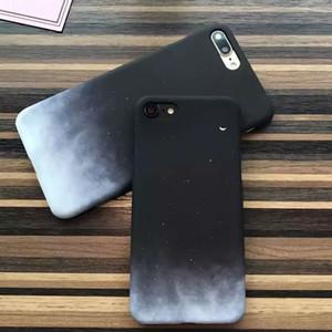 Preciosa Luna Estuche Impreso Para iphone 5 5S SE 6 6S 7 8 Plus X XR XS Max Case Hermosas Estrellas Cielo Contraportada Duro Coque