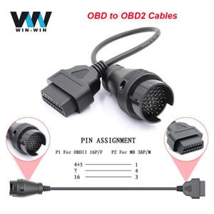 OBD para la herramienta del explorador OBD2 Extensión teleférico OBD OBD2 Conector de diagnóstico del coche automático ODB2 Para BWM para MINI VCI ELM 327 COM OP