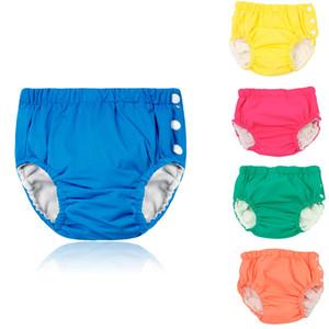 Bebek Yeniden kullanılabilir diape Swim Nappy Bezi Kapak Mayo ekolojik bezi Yüzme bavulları Havuzu Pantolon Çocuk Bebek külot