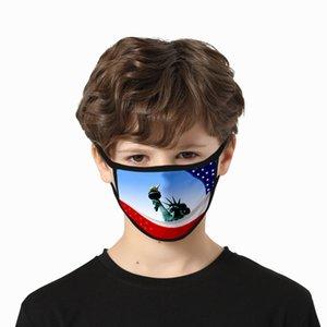 День независимости США маска для Леди Cubrebocas Цвет Розы Маски моющегося полиэстера США Independence Authenti sqtrimmer DsMbS
