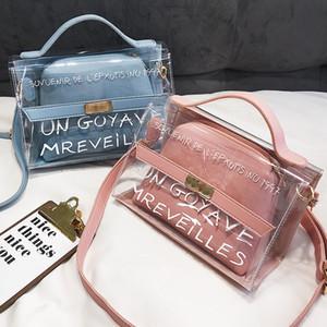 2019 Transparent Bag Women PVC Fashion Clear Bag Women Handbags bolsa feminina Shoulder Crossbody bolsa