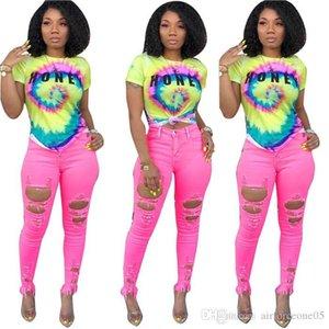 Coloré Skinny femmes Designer T-shirt à manches courtes 3D Imprimer dames Hauts Mode Femmes d'été T-shirts sexy