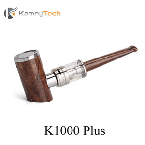 Original Kamry K1000 Plus Glaspfeifensatz Eingebaute 1000mAh Batterie 4.0ml Zerstäuber E Pipe Mod Max 30W Leistung Vape E-Zigarette Kit