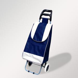 Büyük Yükleme Capacity, Groceries 4202129 için Tekerlekler ve Kaymaz Sapları ile su geçirmez Sepeti ile Katlama Arabası Alışveriş Sepeti Hafif