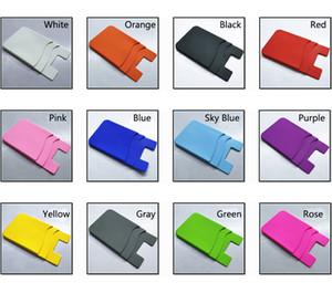 Portafoglio in carta adesiva in silicone Portafoglio in carta siliconata Portafoglio in carta siliconata in silicone 3M appiccicoso