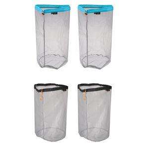 2 Packs Outdoor Waterproof Shockproof Storage Box Airtight Emergency Dry Box