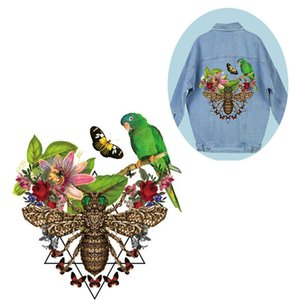 High-quality jacket Patches Easy Print By Household Irons Heat Transfer Iron On Patch A-level Washable Clothes Stickers