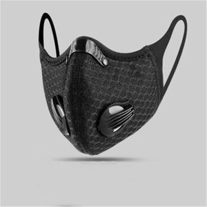 Free DHL Ship!6Vl32 K Face Mouth Outdoor Security Anti 5 Layers Insert Dustproof Replacement Pm2.5 Smog Mask Gasket Protecti QABFOU