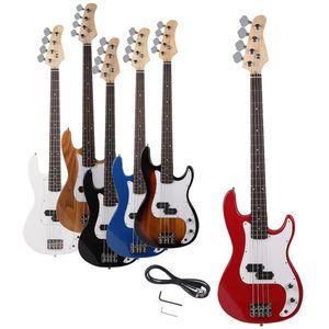 Nouvelle haute qualité 4 cordes Handed droit Guitare basse électrique