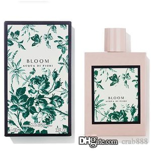 Духи для женщин Bloom Acqua Di Флори фруктовый аромат 100мл EDT Туалетная вода-Long Lasting Бесплатная доставка