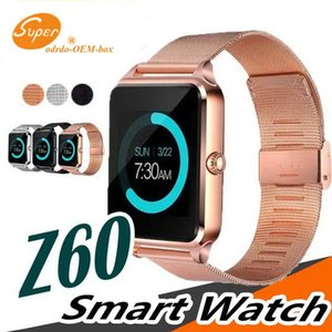 ذكية ووتش Z60 GT09 الرجال النساء بلوتوث المعصم smartwatch دعم sim tf بطاقة اليد ل أبل الروبوت الهاتف pk DZ09