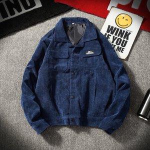 estudante Wick denim dos homens ferramental de veludo Wick casaco Jacket homens casaco estudante jaqueta de denim ferramentas de veludo