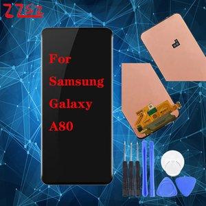 Marca Original Novo Para Samsung Galaxy A80 A805 A805F LCD Touch Screen digitalizador DHL transporte livre