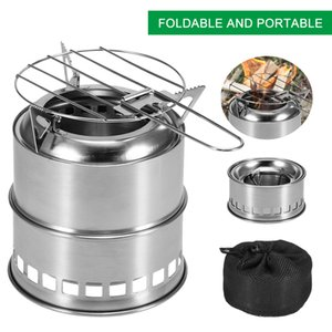 LIXADA BBQ Accessories Grill Net Stainless Steel BBQ Grill Net With Foldable Handle For Outdoor Camping Picnic Wood Stove Use