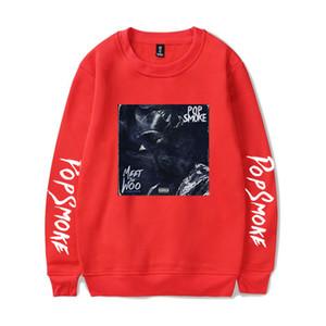 أمريكا المغني مصمم رجالي هوديس RIP POP SMO رجل القمم فضفاض تي شيرت الرجال الملابس النسائية