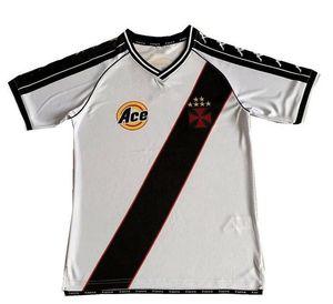 1999 2000 Vasco da Gama Retro Jersey 99 00 Romario Da Gama Away Paulo Miranda Dede Juninho Luizao Vintage Camisa de Futebol Clássico