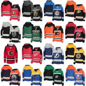 Nueva camiseta de hockey con capucha Arizona Coyotes San Jose Sharks Nashville Predators Montreal Canadiens Ottawa Senators Toronto Maple Leafs