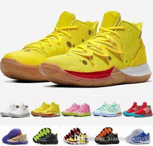 جديد وصول الاطفال Kyrie أحذية TV PE كرة السلة 5 لرخيصة 20 الذكرى الإسفنج اكس ايرفينغ 5S V خمسة الرياضة أحذية رياضية