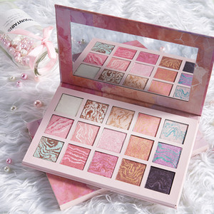 La gama de colores 15 del brillo del color del reflejo de sombra de ojos Deslumbrante Maquillaje Corea cosméticos sombra de ojos