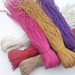 Waterproof Leather Shoes Laces Round Shape Fine Rope White Black Red Blue Purple Brown Shoelaces High Quality Shoelaces