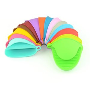 Silicone Anti-scalding Oven Gloves Mitts Potholder Kitchen BBQ Gloves Tray Pot Dish Bowl Holder Oven Handschoen Hand Clip