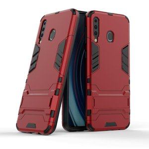 Pour Samsung Galaxy M30 Case 2019 Stand Robuste Combo Hybrid Armor Support Impact Holster Couverture Pour Samsung Galaxy M30